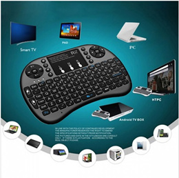 Mini Wireless Keyboard Specific Multi-Media remote control Air Mouse For TV BOX/Mac/PC/Laptop/Tablet