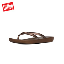 [NEW] FITFLOP IQUSHION ERGONOMIC FLIP FLOP BRONZE ★100% Authentic★