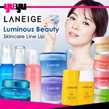 [LANEIGE] Luminous Beauty Skincare Series | Water Bank | Sunscreen | Sleeping Mask | Korea