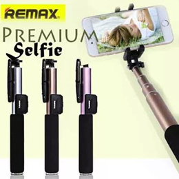 Remax Premium Selfie Stick Bluetooth with Remote Shutter 1 00% Authentic Travel