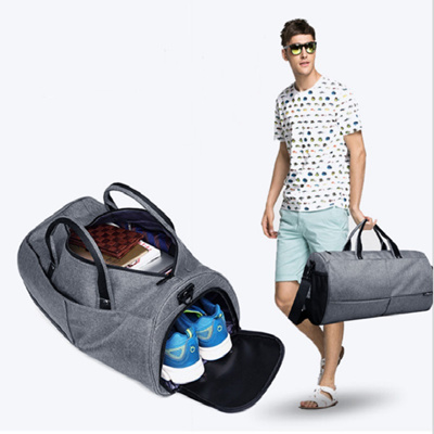 724e187d5 wholesale Men Travel Bags Black Blue Men Tote Shoulder Travel Bag Portable  Men Handbags Big Weekend