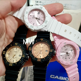 Latest Casio Ladies Watch Analog Resin Band Sports Date 100M LRW-200H