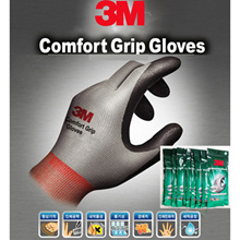 [10Pairs] 3M Comfort Grip Work Gloves Glove Excellent Wet Dry Industrial/Gardening/cycling/climbing/bike/bicycle/ fishing/Maintenance/plumbing/wiring/Logistics/horticulture/Civil /Construction