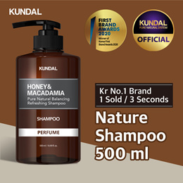 [KUNDAL] Nature Shampoo 500ml ✨Kr No.1 Brand✨⭐1 sold in EVERY 3 Seconds⭐