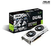 ASUS Dual series GeForce GTX 1060 OC edition 6GB GDDR5 for best eSports gaming color-matched PC build