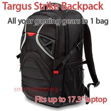 Targus Strike TSB900AP-70 Backpack for [17.3-Inch] Gaming Laptop (Black/Red)