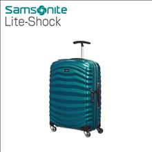 Samsonite Lite-Shock Suitcase Trunk Fashion petrol blue HS Spinner 20inch