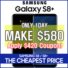 [MAKE $580!] SAMSUNG S8 S8+ Unlocked 64GB[Refurbish = grade S]