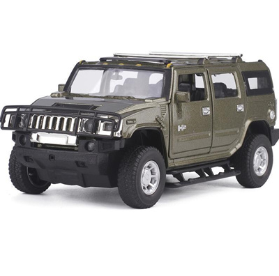 Qoo10 Shop 1 32 Hummer H2 Suv Model Car Toy Diecast Metal With