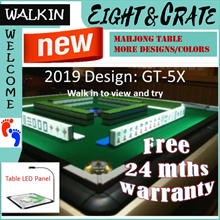 🇸🇬Walk in welcome 🇸🇬 Fast / Good / 100% satisfaction Mahjong Table Folding Automatic Mahjong