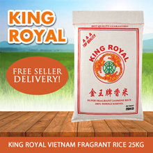 FREE 1kg Cooking Oil!! KING ROYAL Vietnam  Fragrant Rice 25Kg