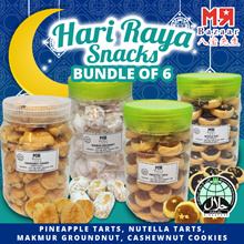 [Hari Raya] $88 After Coupon! Big Bottle! ~50 Pieces/Bottle (~700g+ Net Weight) x 6 Bottles Homemade