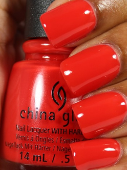 China Glaze The heat is on