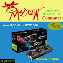 ASUS ROG Strix GTX1060 6GB   OC  Edition.