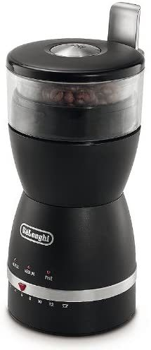 DeLonghi KG49 Electric Coffee Grinder With 90G Capacity,Black