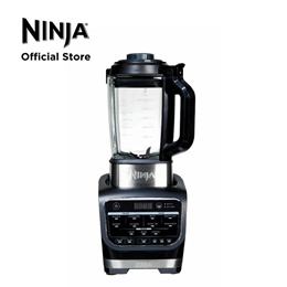 Ninja Foodi Cold Hot Blender 1000W | Cook Hot Soups | Crush Frozen Drinks | HB150 Glass Pitcher