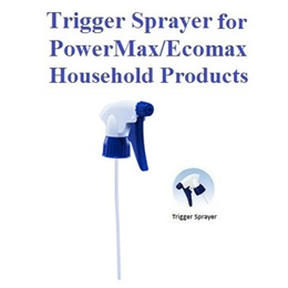 Trigger Sprayer for PowerMax and Ecomax Household Products