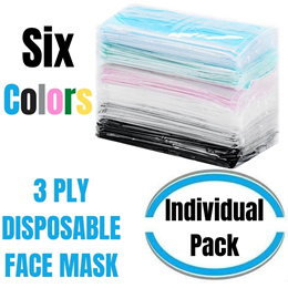 [Individual Pack / Box Pack] Premium Face Mask 50PCS 3PLY Disposable Masks Same Day Shipping