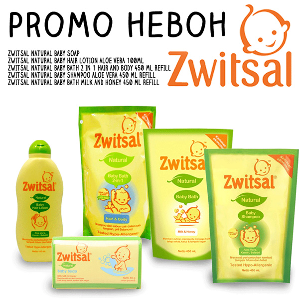 PROMO HEBOH ZWITSAL Deals for only Rp35.000 instead of Rp35.000