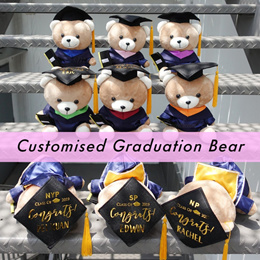 Customised Graduation Bear / Convocation Bear / Personalized Bear / Graduated