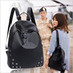 **Ready Stock**2 Design To Choose**2017 New Fashion PU Leisure Backpack