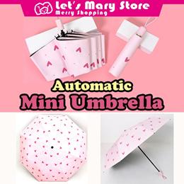 ★ Automatic Mini Umbrella ★ Fancy design Small but sturdy Fashion Accessories