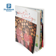 """40-Page 8""""x 11"""" Medium Portrait Softcover Photobook from Photobook Malaysia"""