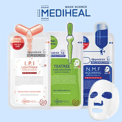 Mediheal Mask Sheet Upgrade 3x Essential Mask Science Deals for only Rp19.000 instead of Rp54.286