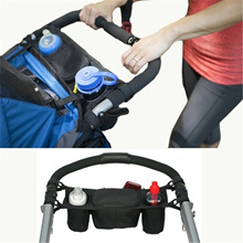 Baby s Stroller Double Bag Bottle  Buggy Holder