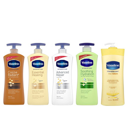 (BUNDLE OF 3) VASELINE INTENSIVE CARE LOTION 600ML/725ML (ASSORTED)