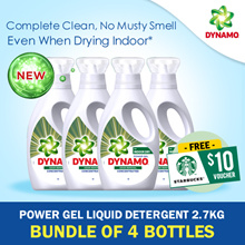 [DYNAMO] NEW LAUNCH! Bundle of 4 Power Gel Odor Removal For Indoor Dry! 1st 100qty Free $10 Starbucks Voucher