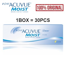 1-Day Acuvue Moist Daily with Lacreon(30pcs) Contact Lens Eye Lens Daily