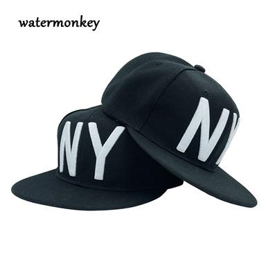 Unisex hip hop snapback Cap NY Men  Women Snapback Cool Hat boy Letter  Adjustable Casquette Bone 50348a629cd7