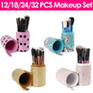 Makeup Brushes 12/18/24/32 pcs [SEND OUT WITHIN 3 DAYS] READY STOCK