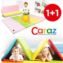 ★1+1 Play Mat★Korea Hit Caraz playmat 1+1/Folding mattress/baby and kids safety mat/Made in korea