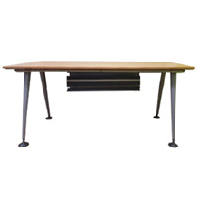 Single Workstation (Without Back Panel) - Study Table / Laptop Desk / Computer Table