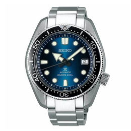 SEIKO PROSPEX CORAL BLUE SUMO AUTOMATIC SILVER SBDC069 GENTS STAINLESS STEEL STRAP MEN WATCH