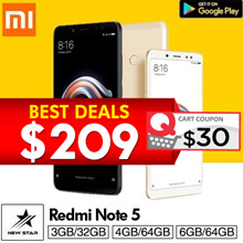 [GROUP BUY]Xiaomi Redmi Note 5 High Edition 6GB/64GB * 4GB/64GB * 3GB/32GB