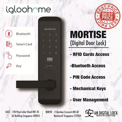 Igloohome Mortise Digital Door Lock