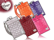 [COACH][FREE SHIPPING]★100% AUTHENTIC★SALE★COACH LANYARD ID CARD HOLDER WALLET WRISTLET