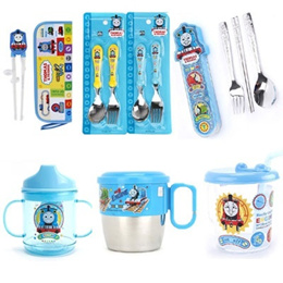 ★Thomas and Friends★ Thomas Cup / Thomas Chopsticks Spoon Fork / Thomas Bowl (Given sweety)