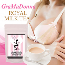 [GraMaDonna Royal Milk Tea] Luxuriously formulated Bust care while relaxing
