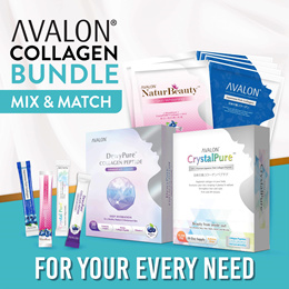 [2 MONTHS SUPPLY] | AVALON Collagen Powder Bundle | Results in 14 days | Whitening