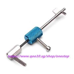 Civil Lock Quick Forced Open Lock Picks Locksmith Tool Silver + Blue