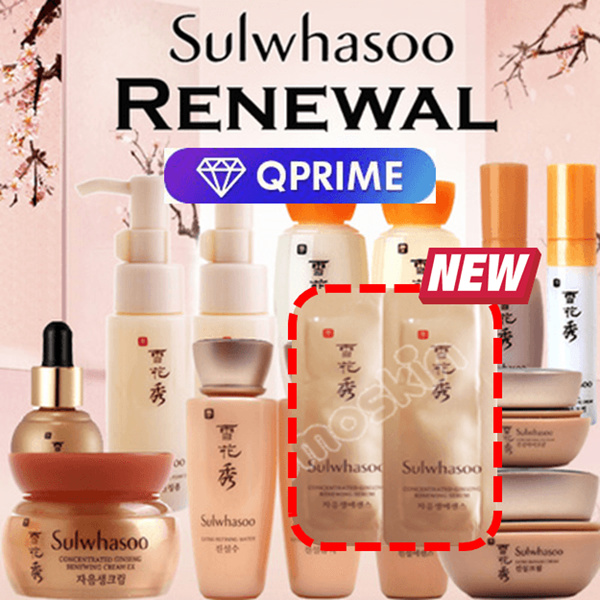 [Sulwhasoo?] Best Sample Collection! Essence/Serum/Cream/Eye Cream/Ginseng/ Whitening/Mask Deals for only S$10 instead of S$10