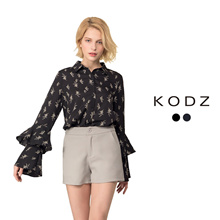 KODZ - Ruffle Sleeve Blouse-180432