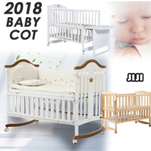 ★Baby Cot★Bed Crib/ Baby bed / Babycot / Babybed / Bedding Set / Playpen / Solid Wood/ Premium table