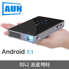 AUN Android 7.1 DLP projector D5S/D5 Built-in WIF / Bluetooth Mini Projector / Home Cinema
