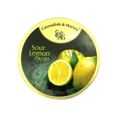 Permen Cavendish Harvey Sour Lemon Drops