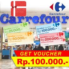 Voucher Carrefour Rp.400.000